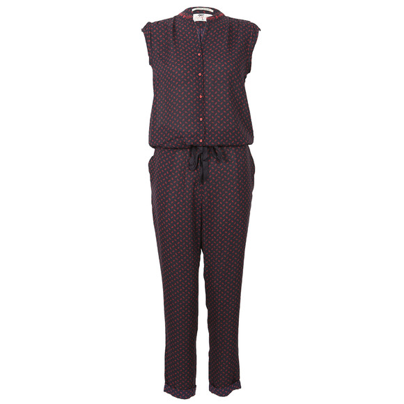 Maison Scotch Womens Blue Silky Feel Jumpsuit main image