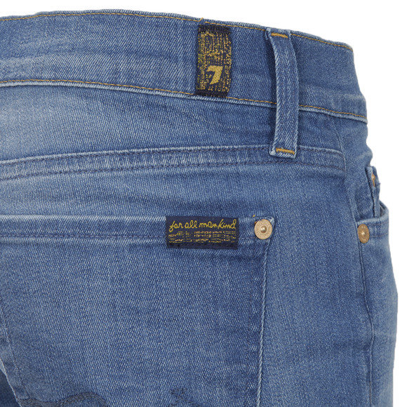 7 For All Mankind Womens Blue Josefina Skinny Jean main image