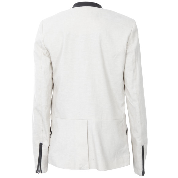 Maison Scotch Womens Off-white 50's Inspired Blazer main image
