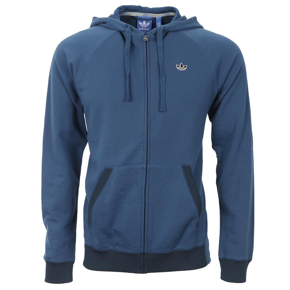 Adidas PBS Zip Blue Hoodie
