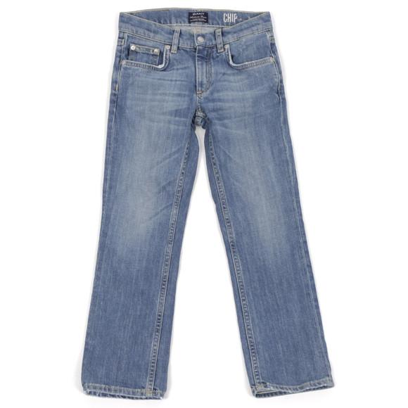 Gant Boys Blue Gant AS 5 Pocket Chip Denim Jean main image
