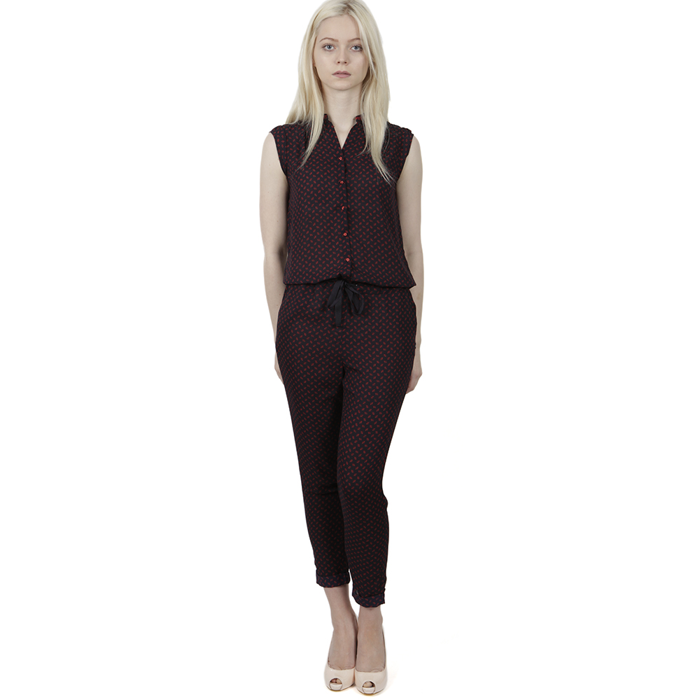 Silky Feel Jumpsuit main image