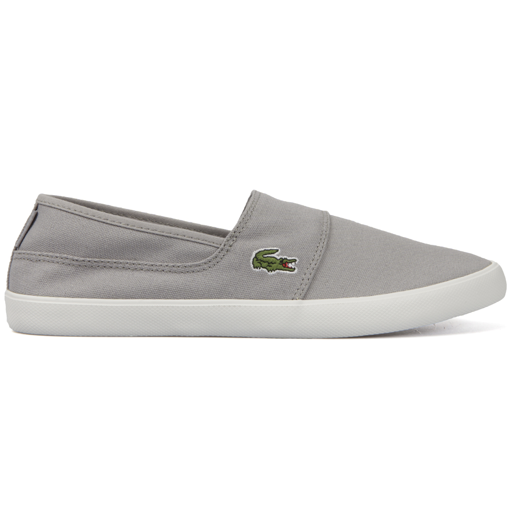 7db69e327 Lacoste Sport Mens Grey Marice LCR SPM Grey Slip On