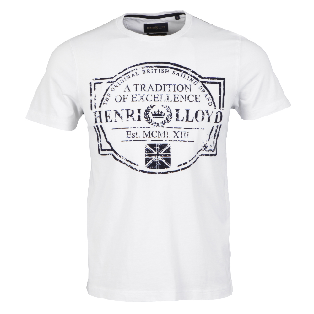 Henri Lloyd Bancroft Regular White TShirt