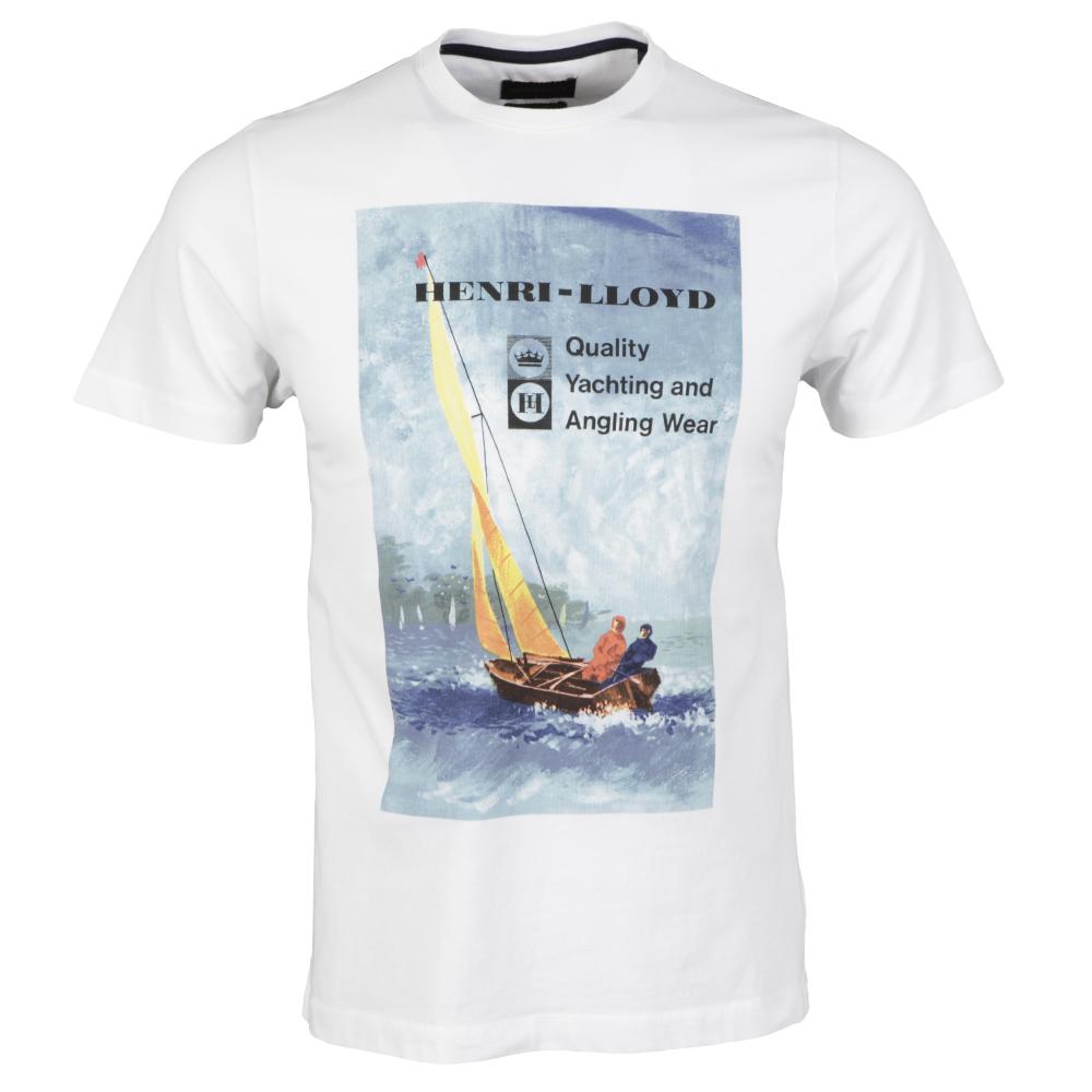 Henri Lloyd Bright White Pell T Shirt