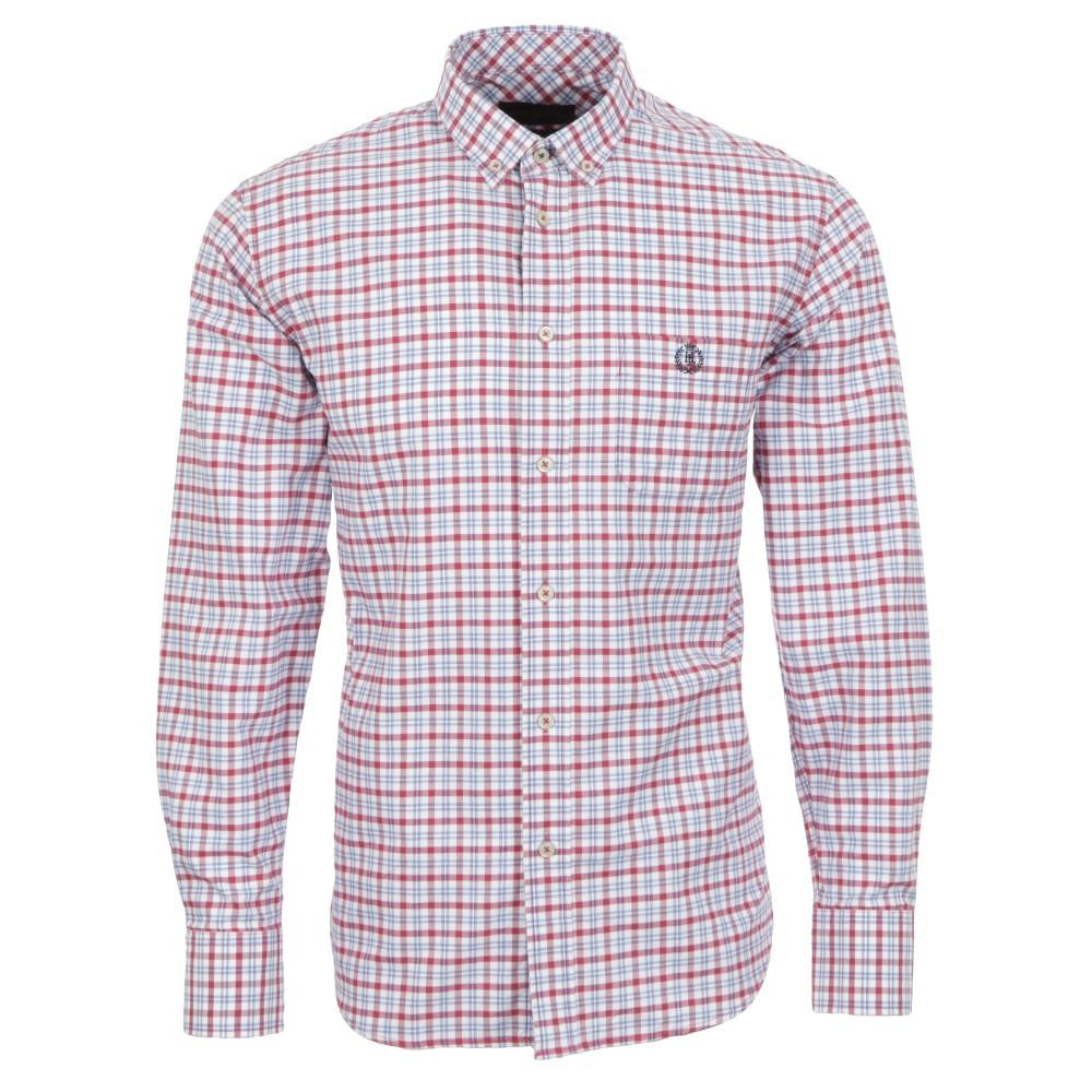 Henri Lloyd Nelson Raspberry LS Shirt