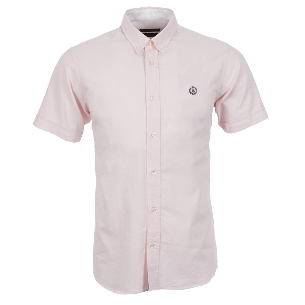 Henri Lloyd Club Regular SS Pink Shirt