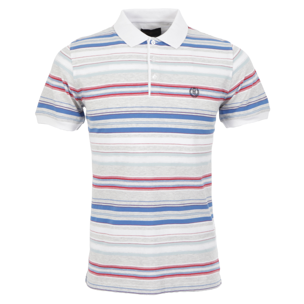 Henri Lloyd Jibe Light Grey Marl Polo