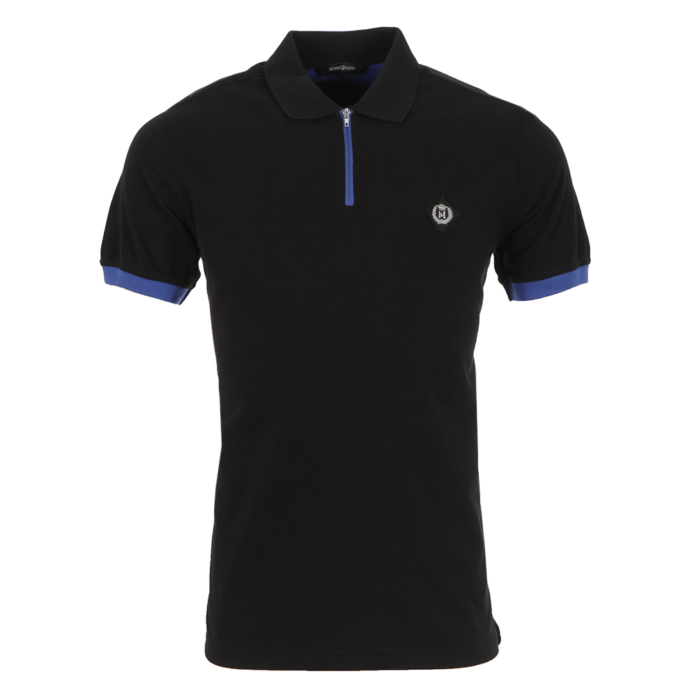 Henri Lloyd Finn Regular Black Polo
