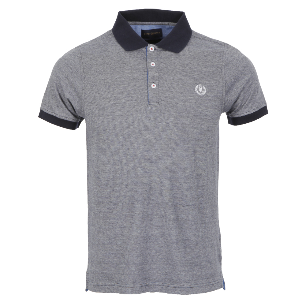 Henri Lloyd Wallace Navy Fitted Polo