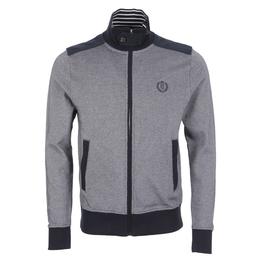 Henri Lloyd Hercules Navy Full Zip Sweat