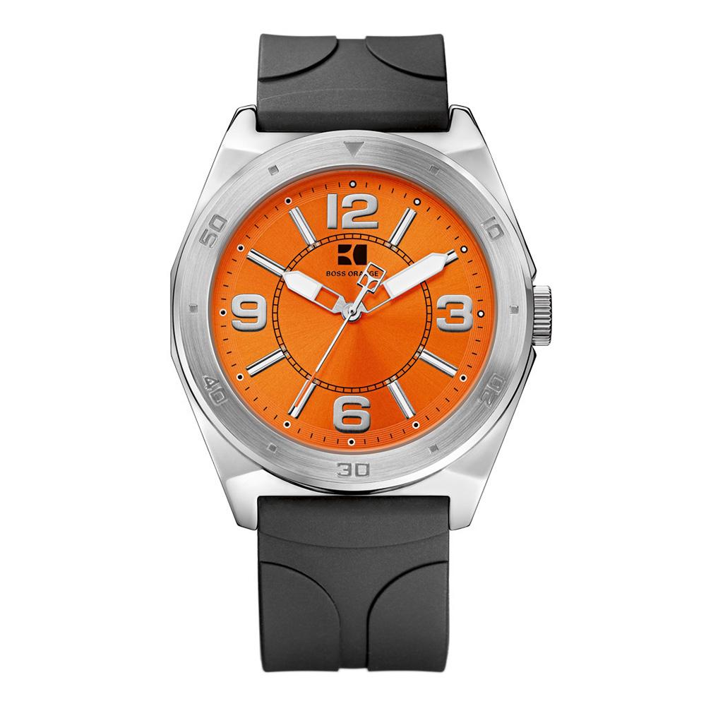boss orange hb 192 watch oxygen clothing boss orange mens black boss orange hb 192 watch main image loading zoom