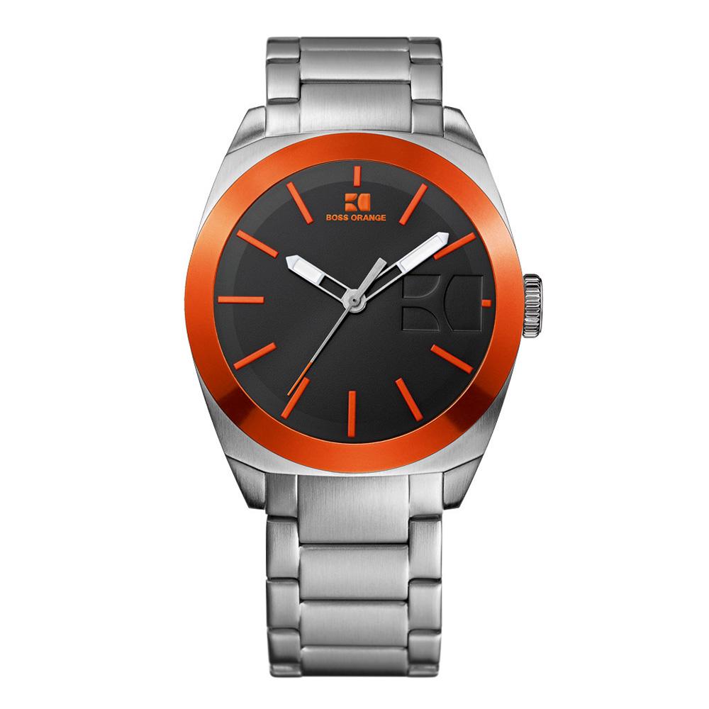 boss orange hb 185 watch oxygen clothing boss orange mens silver boss orange hb 185 watch main image loading zoom