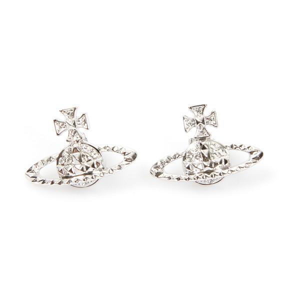 Vivienne Westwood Womens Silver Mayfair Bas Relief Earrings main image