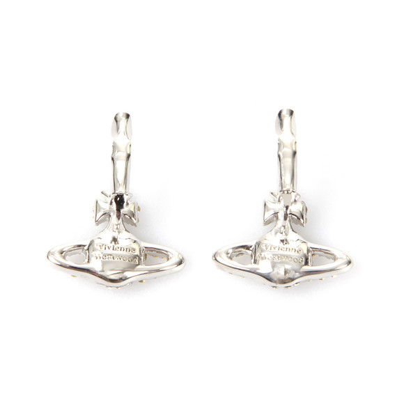 Vivienne Westwood Womens Silver Grace Bas Relief Earrings main image