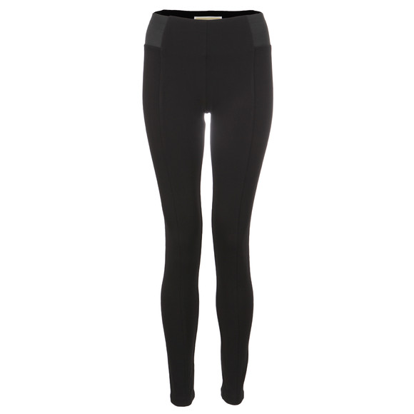 Michael Kors Womens Black Elastic Side Pant main image