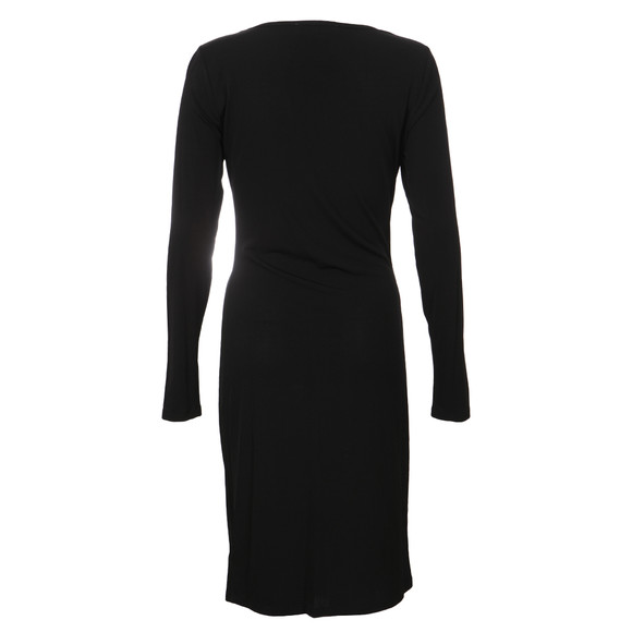 Michael Kors Womens Black Long Sleeve Grommet Lace Dress main image
