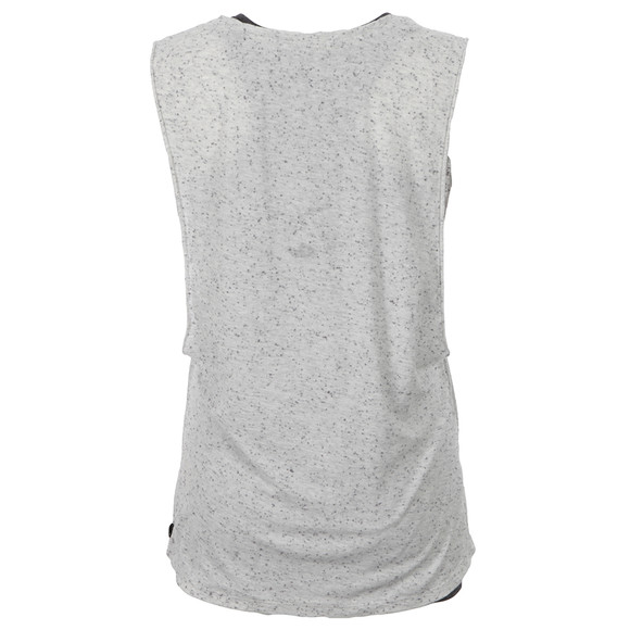 Maison Scotch Womens Grey Festival Rock Tank And Inner main image