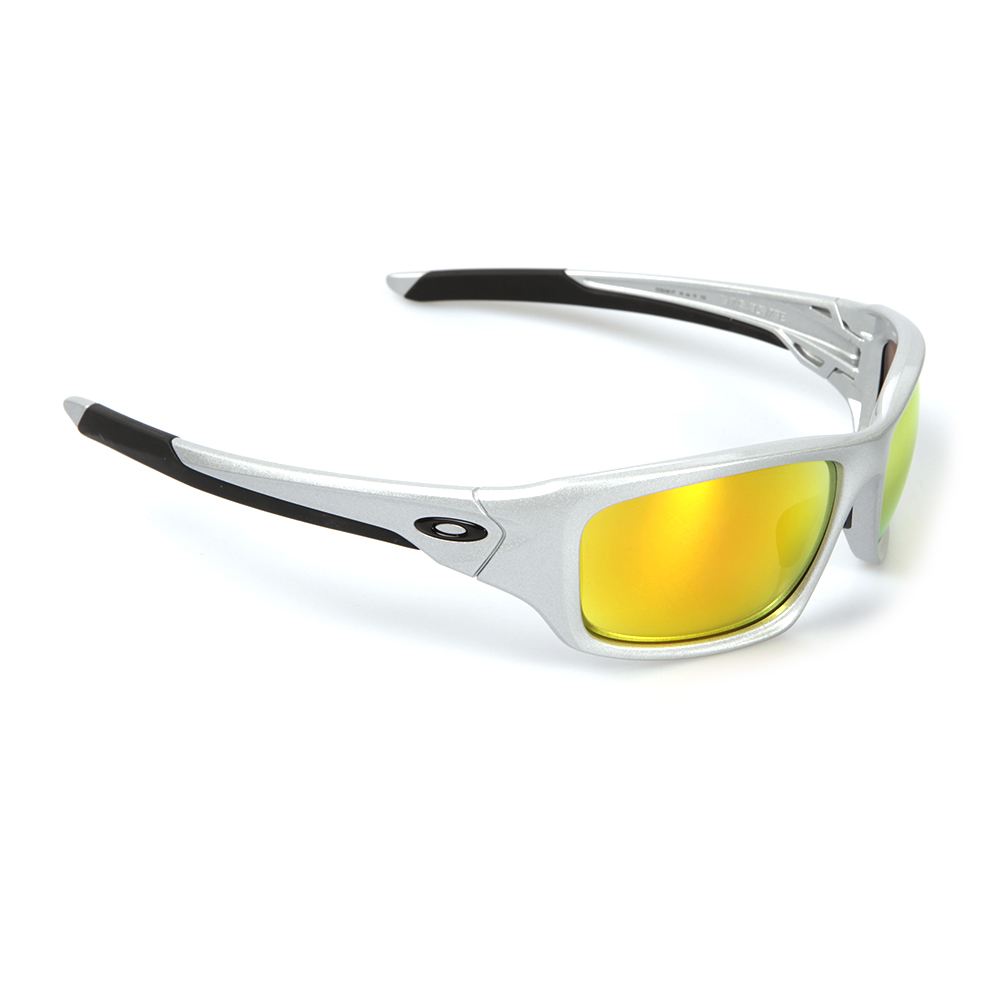oakley sunglasses silver  Oakley Valve Silver/Fire Iridium Polarized Sunglasses