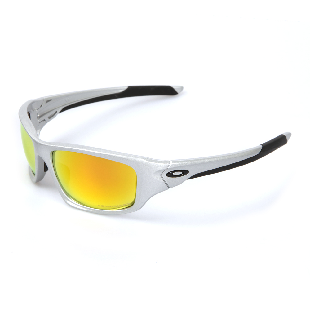 Oakley Silver Sunglasses  oakley valve silver fire iridium polarized sunglasses masdings