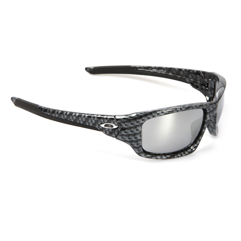 Oakley Valve Carbon Fibre/Chrome Iridium Sunglasses | Masdings