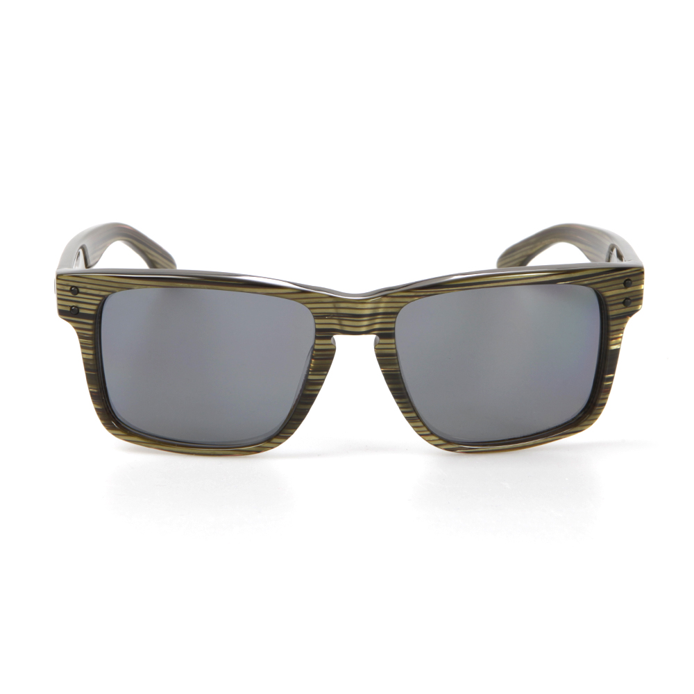 Oakley Holbrook LX Branded Green/Grey Sunglasses main image