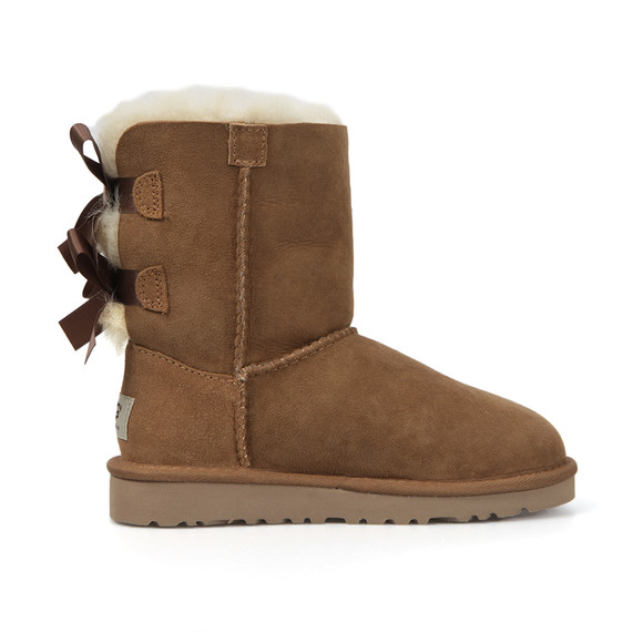 Ugg Girls Brown Bailey Bow Boot main image