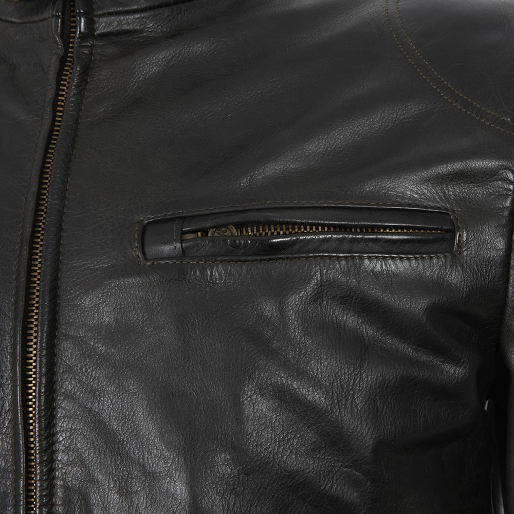 Osborne Leather Blouson main image