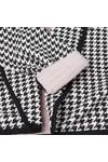 Maison Scotch Womens Black Slub Jersey Blazer