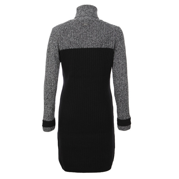 Barbour International Womens Black Rebecca Knitted Jumper Dress main image