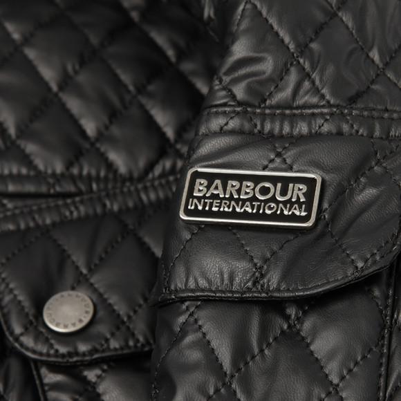 Barbour International Womens Black Grindleford Quilt main image