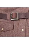 Barbour International Womens Red Lutwidge Jacket