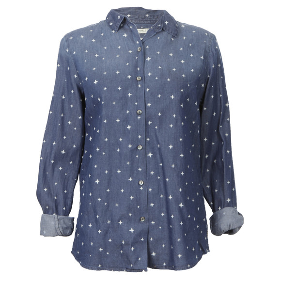 Maison Scotch Womens Blue Preppy Shirt main image
