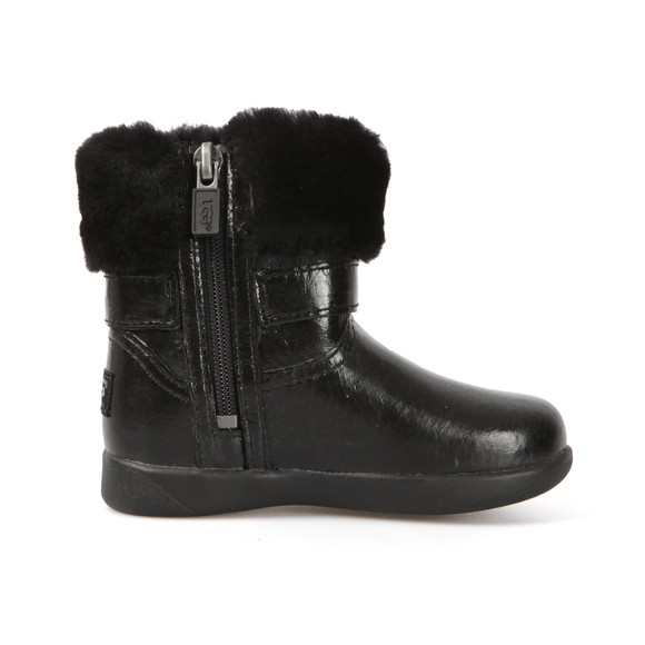 Ugg Girls Black Gemma Boot main image