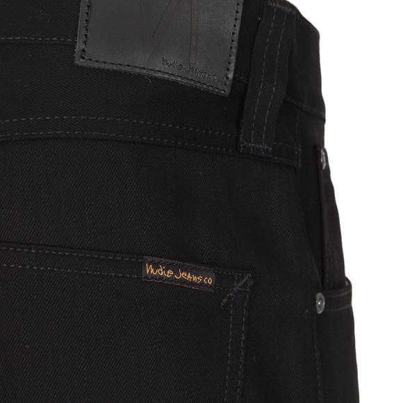 Nudie Jeans Mens Black Steady Eddie Jean main image