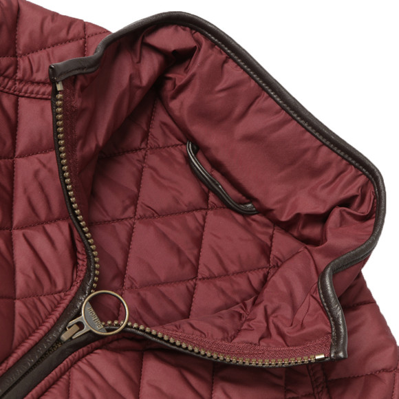 Barbour Lifestyle Womens Red Stallion Quilt main image