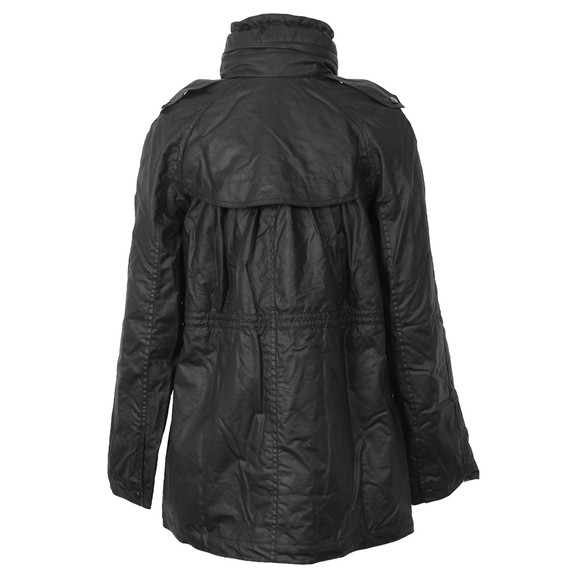 Barbour International Womens Black Roadhouse Parka main image