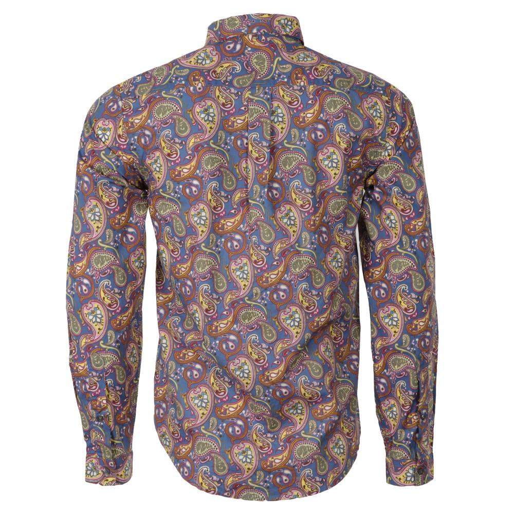 Vintage Paisley Cotton Shirt main image