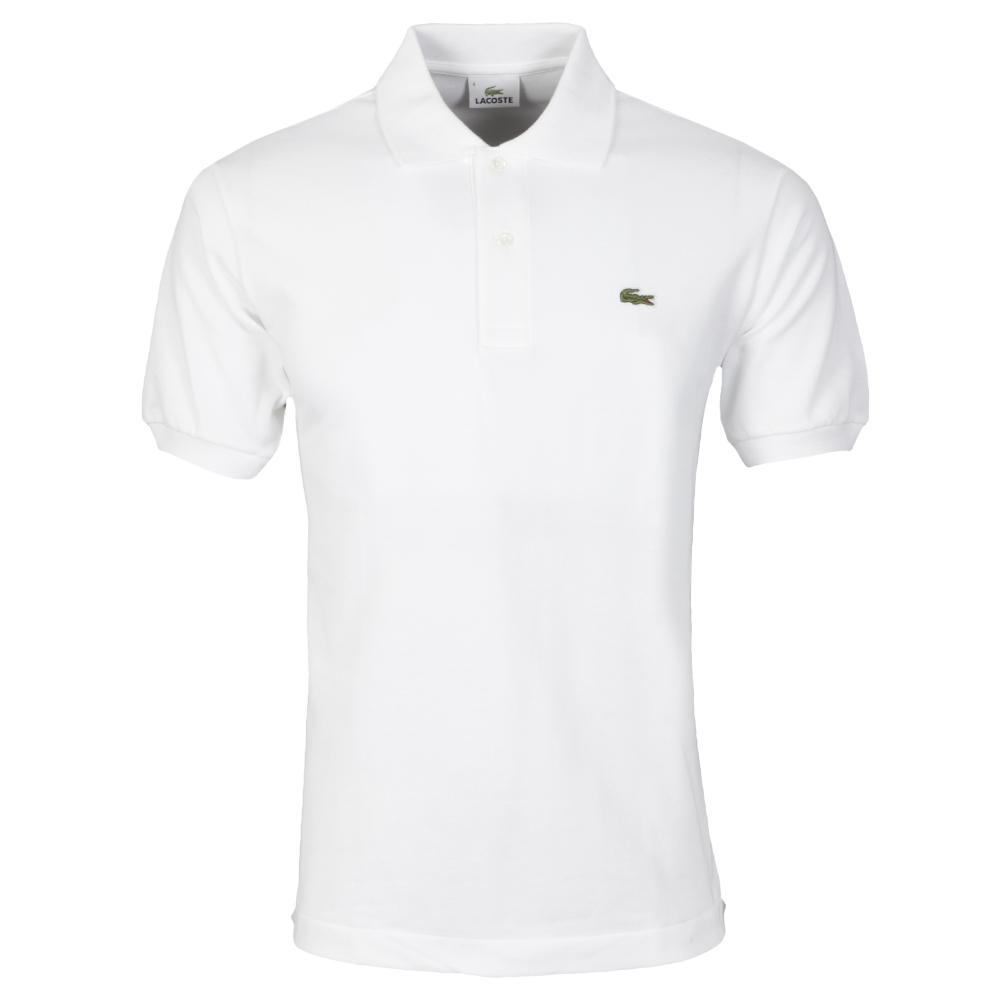 lacoste l1212 plain polo shirt oxygen clothing. Black Bedroom Furniture Sets. Home Design Ideas