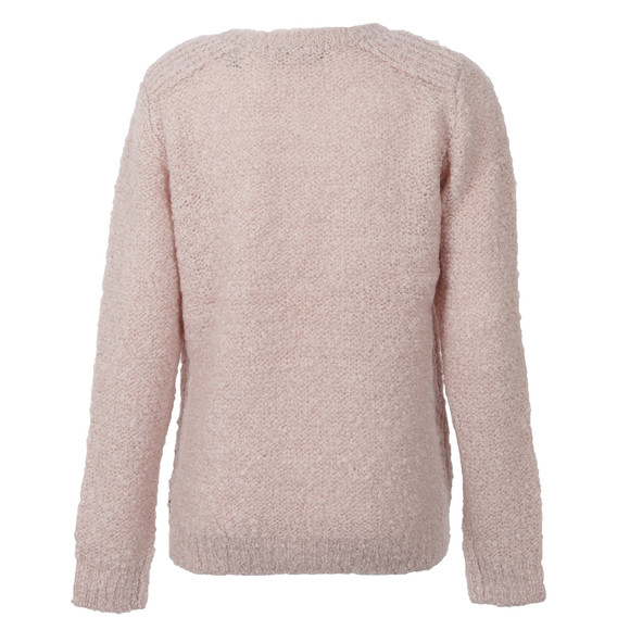 Maison Scotch Womens Bronze Boucle Knit In Beautiful Colour main image