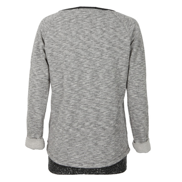 Maison Scotch Womens Grey Sweat Sequence Print main image