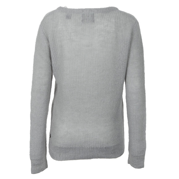 Maison Scotch Womens Blue Knitted Top With Inner Tank main image
