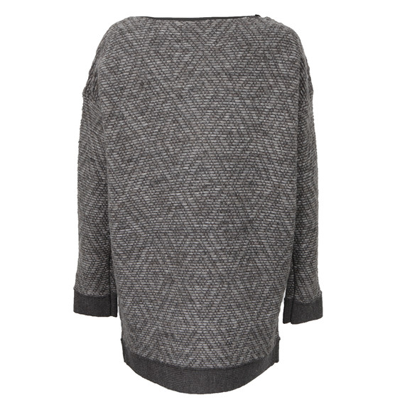 Maison Scotch Womens Grey Longer Length Sweater main image