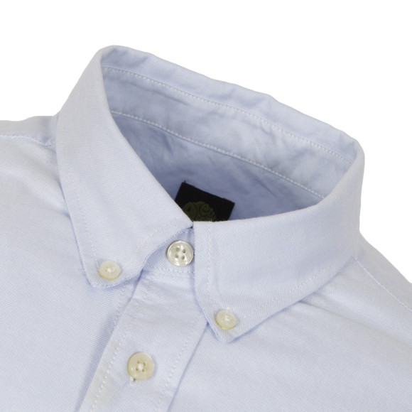 Pretty Green Mens Blue Oldbury Shirt main image
