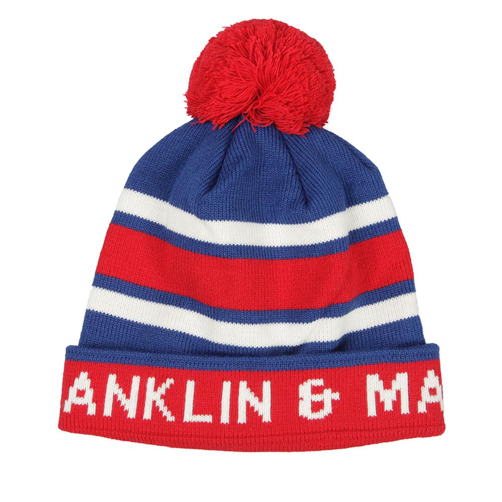 Stripe Bobble Hat main image