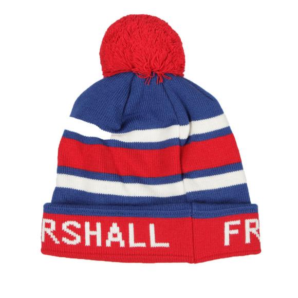 Franklin & Marshall Mens Red Stripe Bobble Hat main image