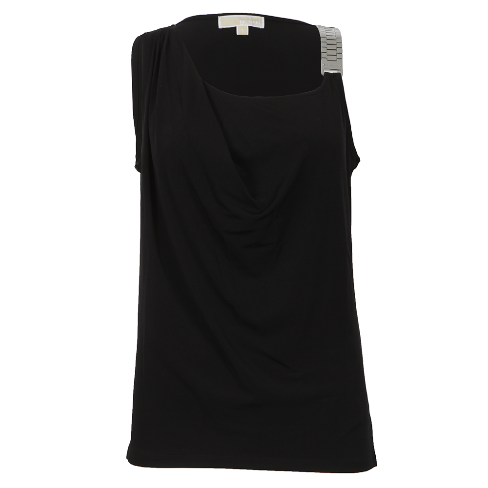 Sleeveless Chainstrap Drape Top main image