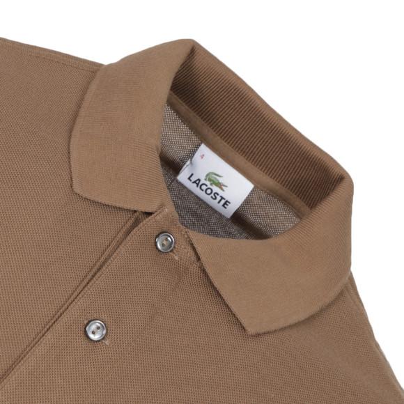 Lacoste l1212 terreau plain polo shirt oxygen clothing for Terreau