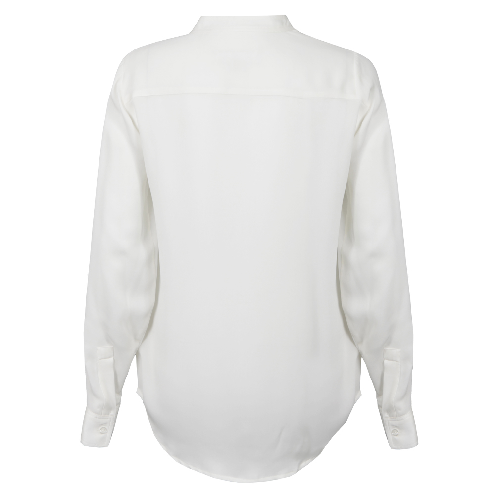 Long Sleeve Chain Neck Top main image