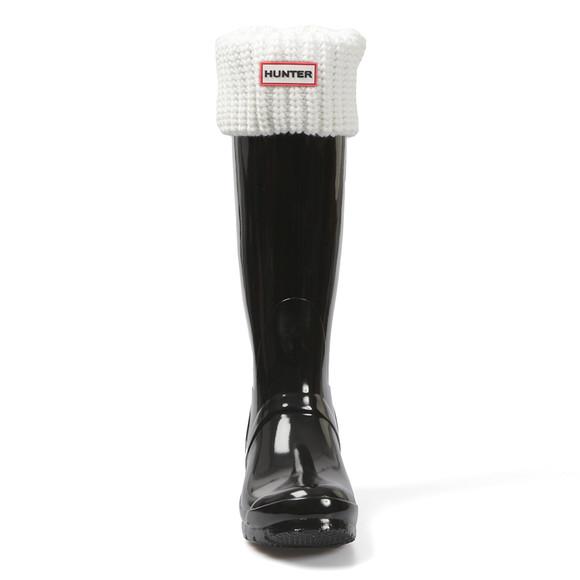 Hunter Unisex White Half Cardigan Boot Sock main image
